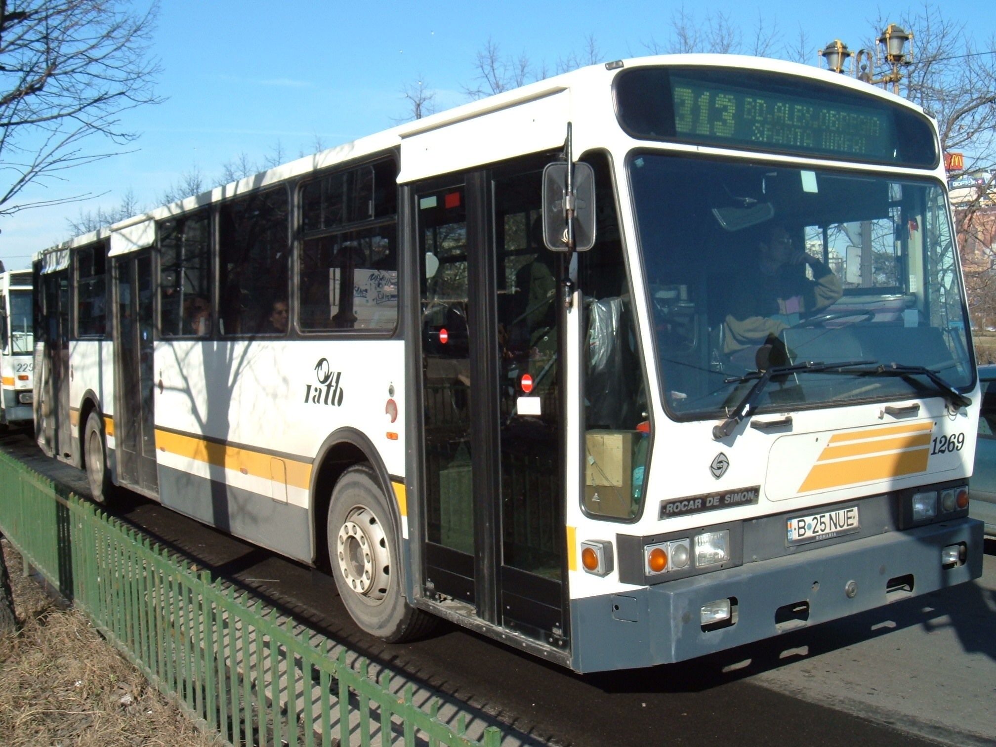1269. Bus Rocar DeSimon on line 313